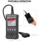 Lancering Creader 5001 Scanner van de Functies van het Kenmerkende Hulpmiddel de Volledige OBD2 met de Test van de Sensor van O2 en Diagnose de aan boord van de Component van de Monitor
