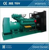комплект генератора двигателя силы 1200kw/1500kVA Googol тепловозный
