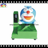 Blue Dingdong Cat Single Axle Coin Operated Kiddie Ride