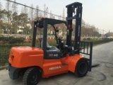 Mini 4 Ton Diesel Forklift Truck Double Front Wheel