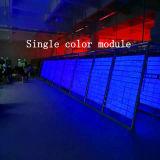 De semi-openlucht enig-Blauwe LEIDENE van de Kleur Module van de Vertoning