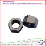 Écrous six-pans d'acier inoxydable d'acier du carbone de la qualité DIN 934