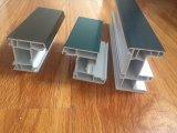 Ventana y puerta del PVC del perfil del material de construcción