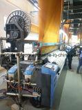 340cm Doppelfarbe Airjet Webstuhl des träger-4 mit elektronischem Jacquardwebstuhl