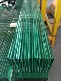 vidrio Tempered modelado hierro inferior de 6m m para el hogar verde