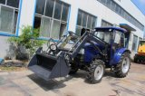 55hp Tractor con Front End Loader y retroexcavadora