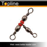 Type B d'émerillons de triple de baril de pêche