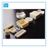 Crogiolo di ceramica del crogiolo di allumina di elevata purezza 99-99.97% rettangolari di figura