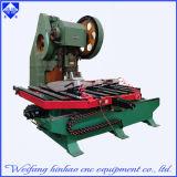 Prensa de sacador de aluminio del CNC de la placa del rectángulo de distribución con la plataforma que introduce