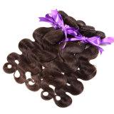 ブラジルのバージンの毛のまっすぐな3束のブラジルの直毛7Aのバージンの加工されていない人間の毛髪のブラジルの毛の織り方の束