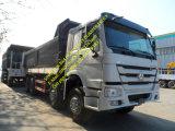 頑丈なトラックのSinotruk HOWOのダンプトラックを導く中国12個のタイヤ