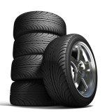 Neumático sin tubo radial del vehículo de pasajeros de la polimerización en cadena de China nuevo