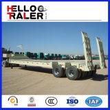 2車軸半30トンの低いベッドのトレーラー