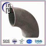 Aço inoxidável de solda de extremidade cotovelo do raio de um Short de 90 graus