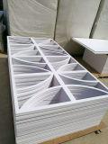 PVCによってがボード密度0.50/0.55/0.60/0.80/0.90泡立ったPVCボードPVC泡のボードはPVC泡立った