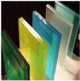 o espaço livre de 6.38mm-52mm/leite/branco/vidro laminado de Clolored/moderaram o vidro laminado/moderaram o baixo vidro laminado de E