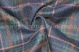 Tessuto di T/R tinto filato, stile del plaid, 65%Polyester 32%Rayon 3%Spandex, 280GSM