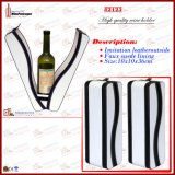 Nuovo supporto di bottiglia di cuoio del vino dell'unità di elaborazione 2014 singolo