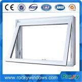 석쇠를 가진 유럽식 백색 색깔 알루미늄 PVC 슬라이딩 윈도우