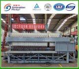 Filtre-presse hydraulique de chambre pour le traitement d'eaux d'égout