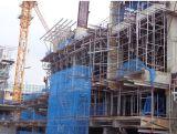 Леса системы конструкции на строительной площадке