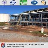 Стальное здание структуры ферменной конструкции для высокого пакгауза подъема