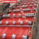 중국 아연에 의하여 도금되는 색깔 입히는 물결 모양 기와 제조자 및 글로벌 판매인을%s 무역 플래트홈