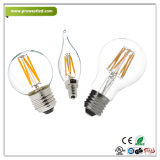 ampoule de 3W 5W 7W 9W E14/E27 DEL s'allumant au remplacement incandescent