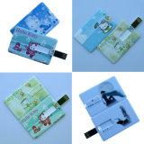 Promotional Gift를 위한 Fashional Credit Card USB Flash Drive
