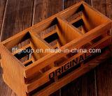 Contenitore di sigaro di legno Handmade di rivestimento lucido di lusso