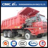 6 * 4 Sinotruck Ultra Heavy Duty Dump Truck para uso em mineração