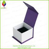 2016 het Hete Vakje van de Gift van de Verpakking van de Juwelen van het Document van de Verkoop Purpere