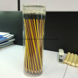 Crayons en bois Hexagonal Hb avec gomme