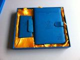 Boîte-cadeau neuve de cahier de cuir de livre À couverture dure