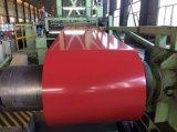 0.125-1.0mmのカラーによって塗られた鋼鉄コイルPPGIはコイルをPrepainted