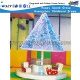 Jeu d'intérieur de cour de jeu de jouet électrique animal de carrousel (HD-7805)