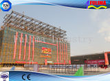 Prefabricated 키 큰 강철 구조물 건물 (FLM-026)