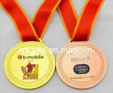 De geplateerde Medaille van het Nikkel met Roestvrij staal Afgedrukte Plaat