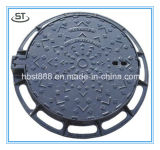 Mineralien u. Metallurgie-Roheisen-Einsteigeloch-Deckel-Preis-/Abwasserkanal-Deckel mit Rahmen