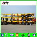 3 Semi Aanhangwagen van de Vrachtwagen van de Container van de as 20FT 40FT de Skeletachtige