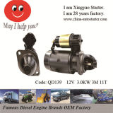 Dongfeng 404 트랙터에 의하여 사용되는 디젤 엔진 시동기 (QD139)