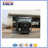 6X4 de Vrachtwagen van de Stortplaats van LHD Genlyon Iveco met C100 Cabine
