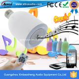 Mini haut-parleur sonore portatif professionnel d'ampoule de la radio DEL