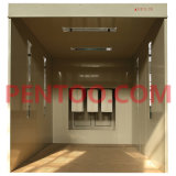 Enterable manual -Ground em Type Powder Coating Booth