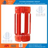 Centralisateur positif/centralisateur semi-rigide d'enveloppe pour le cimentage de gisement de pétrole