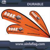 Im Freien und Innenmarkierungsfahnen-Fahne/kundenspezifische Strand-Markierungsfahne
