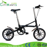Mini bicicleta de dobramento portátil de 14 polegadas para adultos