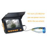 """Câmera da pesca com 4.3 do """" o diodo emissor de luz do IR do indicador 12 LCD"""
