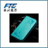 Caja de cuero del teléfono de la PU del modelo del OEM para Huawei