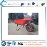 Vermelho ou Green Tray Construction Wheelbarrow Wb6400